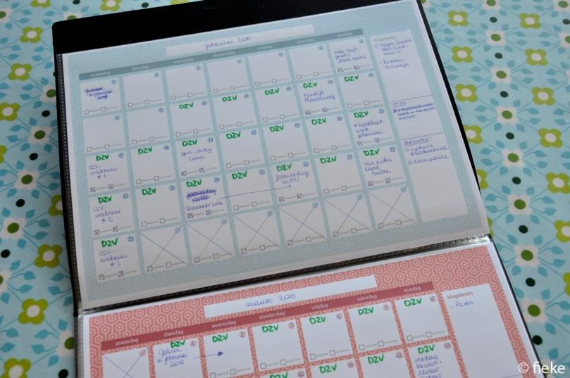 Blogplanner - fiekefatjerietjes