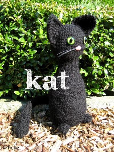 20 - Zwarte kat - fiekefatjerietjes
