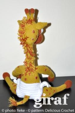 60 - Giraf achter - fiekefatjerietjes