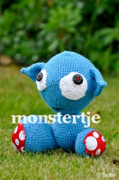67 - Monstertje 2 - fiekefatjerietjes